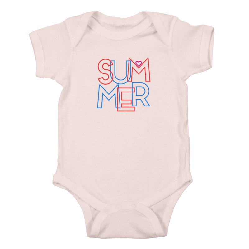 Summer Love Kids Baby Bodysuit by My Shirty Life