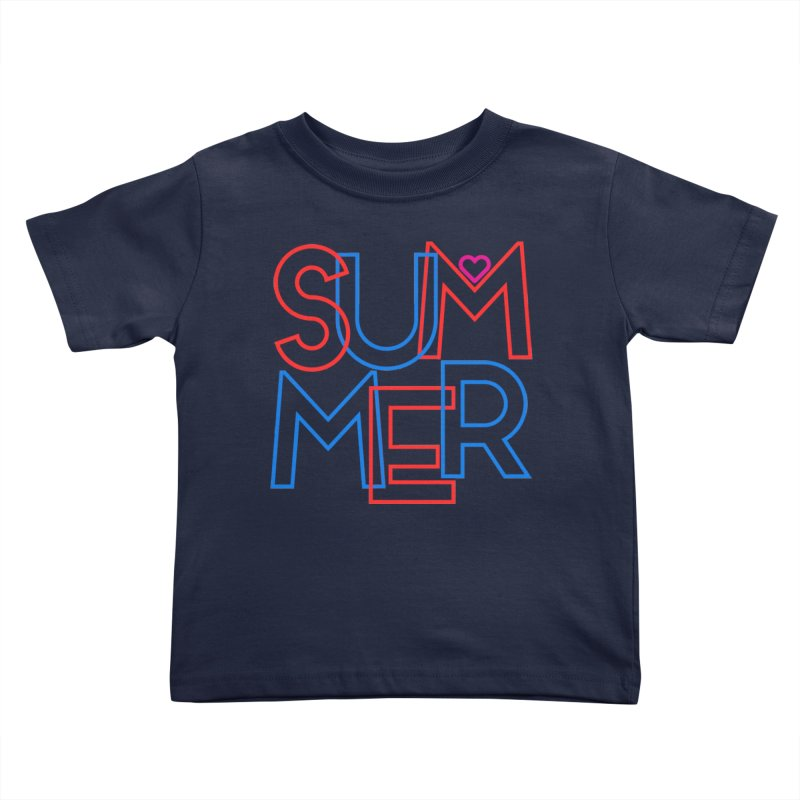 Summer Love Kids Toddler T-Shirt by My Shirty Life