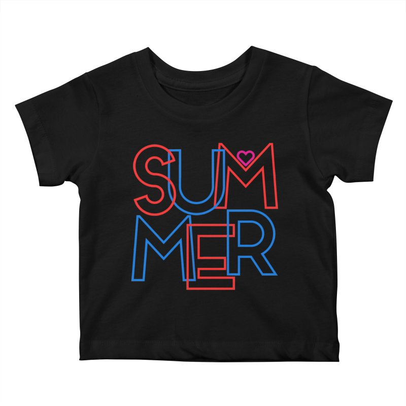 Summer Love Kids Baby T-Shirt by My Shirty Life