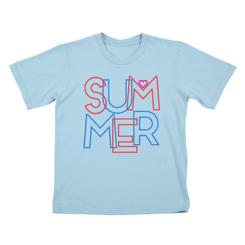 Summer Love Kids T-Shirt by My Shirty Life