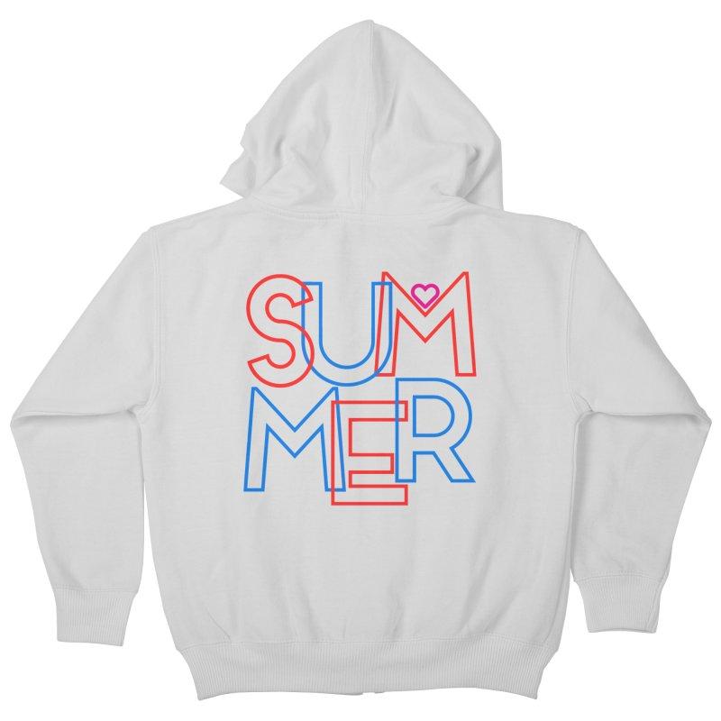 Summer Love Kids Zip-Up Hoody by My Shirty Life