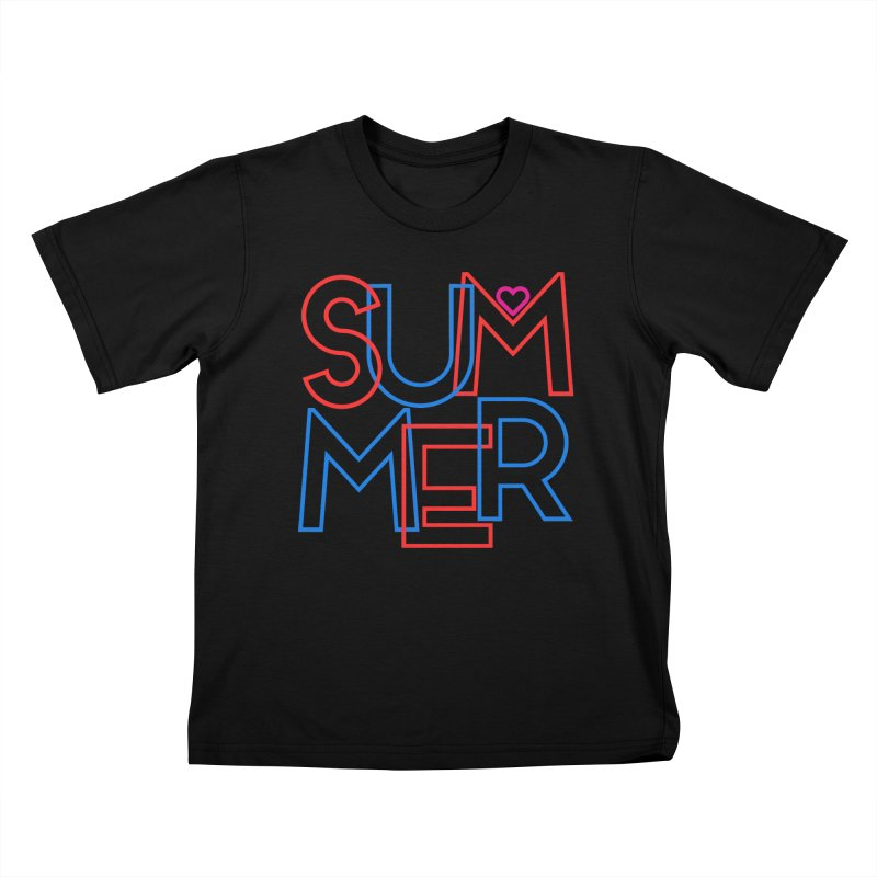 Summer Love Kids T-Shirt by My Shirty Life