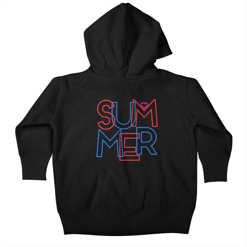 Summer Love Kids Baby Zip-Up Hoody by My Shirty Life