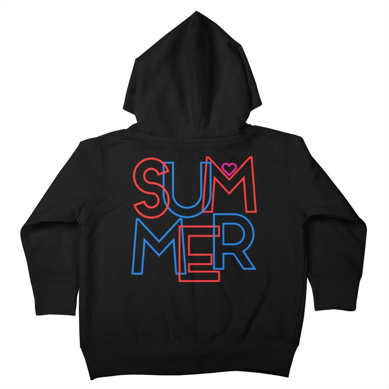Summer Love Kids Toddler Zip-Up Hoody by My Shirty Life