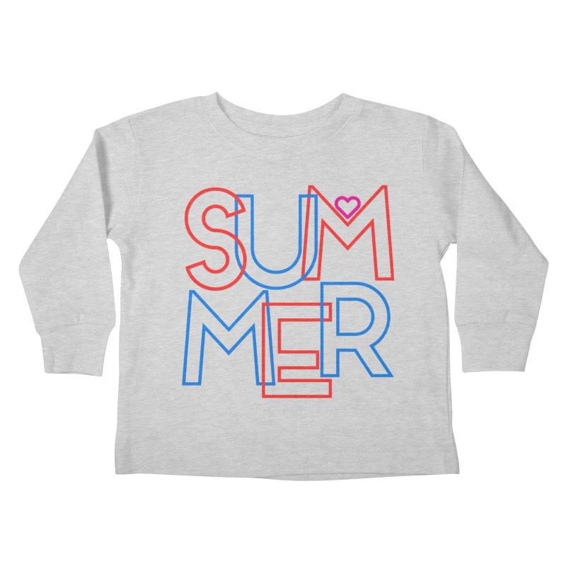 Summer Love Kids Toddler Longsleeve T-Shirt by My Shirty Life