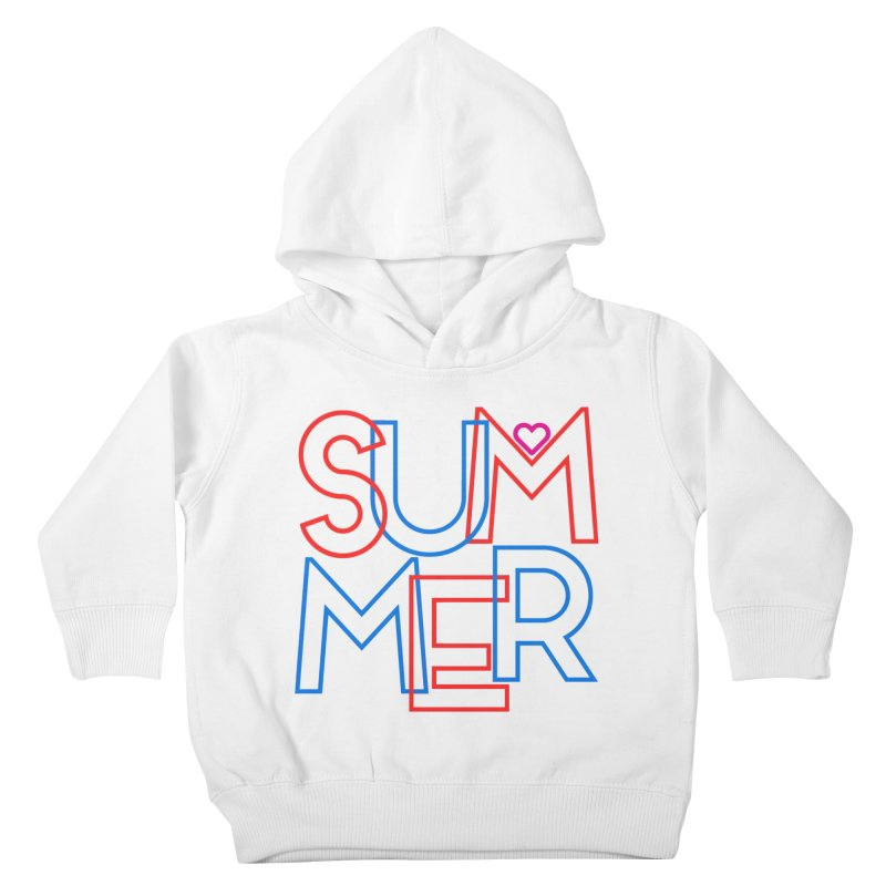 Summer Love Kids Toddler Pullover Hoody by My Shirty Life
