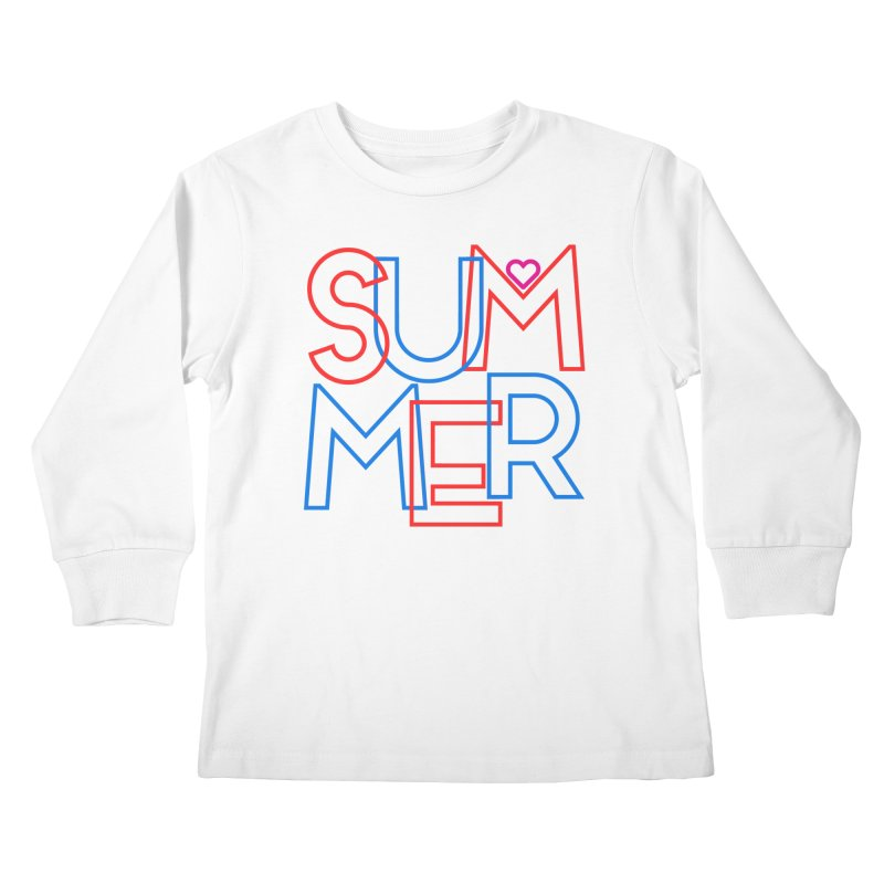 Summer Love Kids Longsleeve T-Shirt by My Shirty Life
