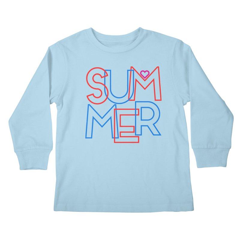 Summer Love Kids Longsleeve T-Shirt by My Shirty Life