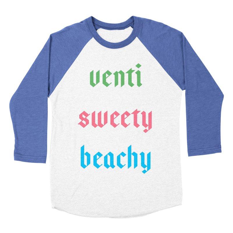 Venti Sweety Beachy Women's Baseball Triblend Longsleeve T-Shirt by My Shirty Life