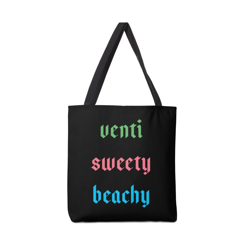 Venti Sweety Beachy Accessories Tote Bag Bag by My Shirty Life