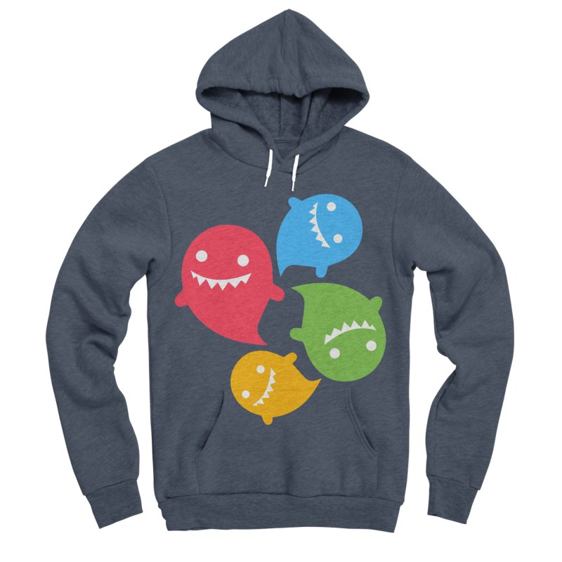 Rainboos Men's Sponge Fleece Pullover Hoody by My Shirty Life