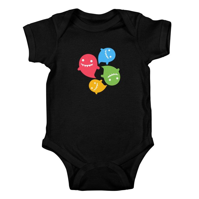 Rainboos Kids Baby Bodysuit by My Shirty Life