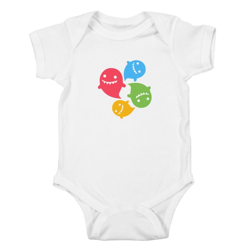 Rainboos Kids Baby Bodysuit by My Shirty Life