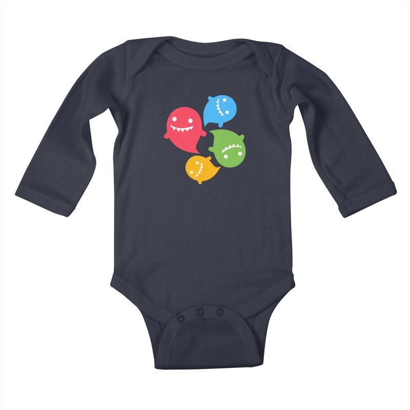 Rainboos Kids Baby Longsleeve Bodysuit by My Shirty Life