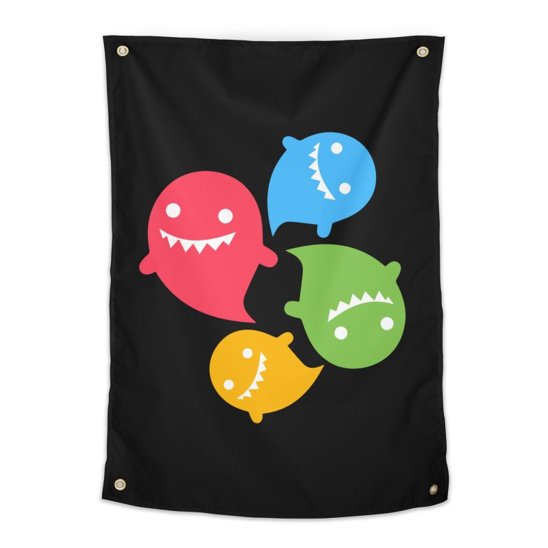 Rainboos Home Tapestry by My Shirty Life
