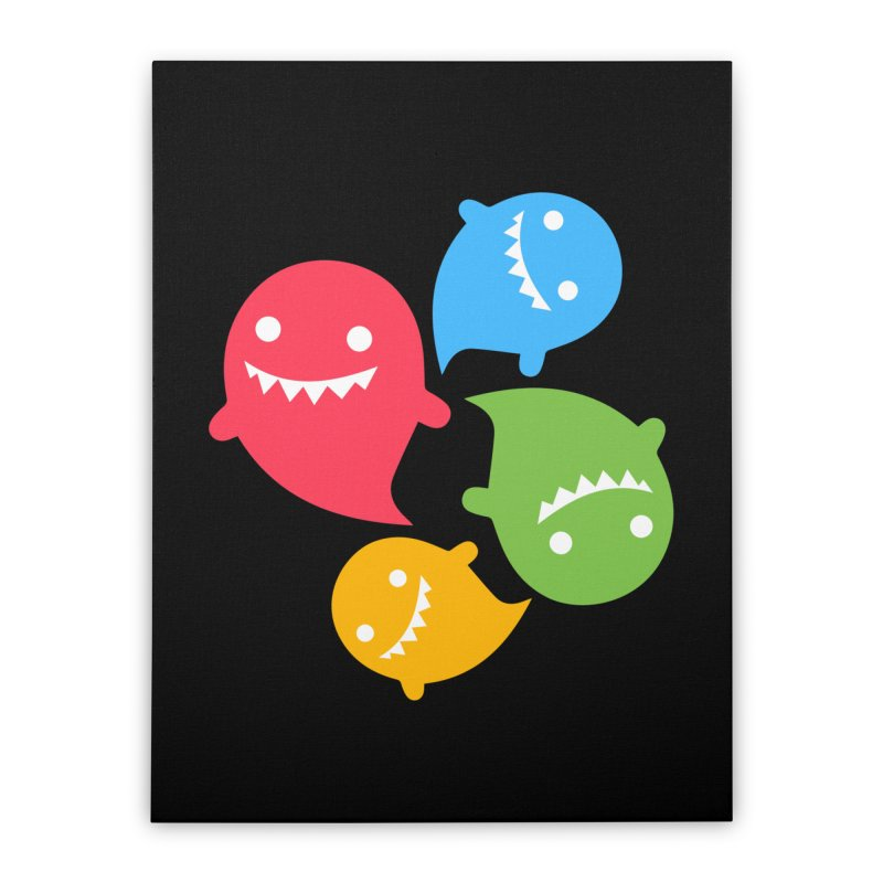 Rainboos Home Stretched Canvas by My Shirty Life