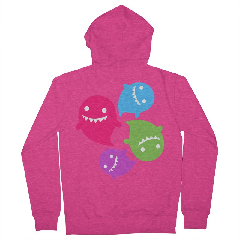 Rainboos v2 Women's French Terry Zip-Up Hoody by My Shirty Life