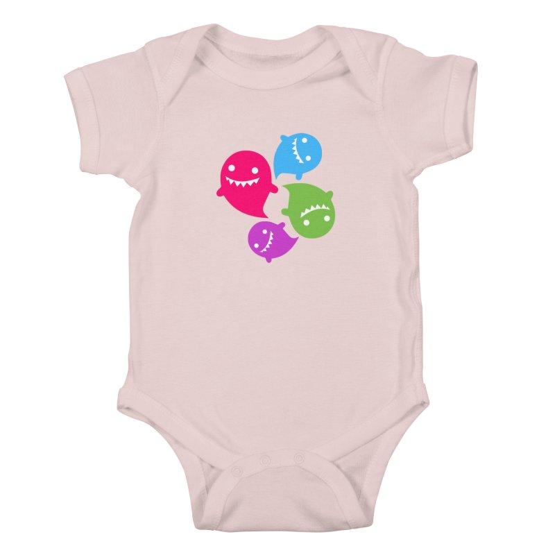 Rainboos v2 Kids Baby Bodysuit by My Shirty Life