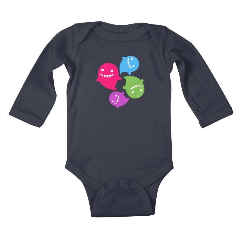 Rainboos v2 Kids Baby Longsleeve Bodysuit by My Shirty Life