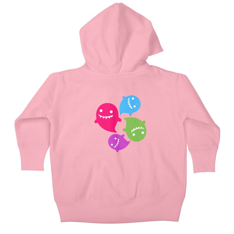 Rainboos v2 Kids Baby Zip-Up Hoody by My Shirty Life