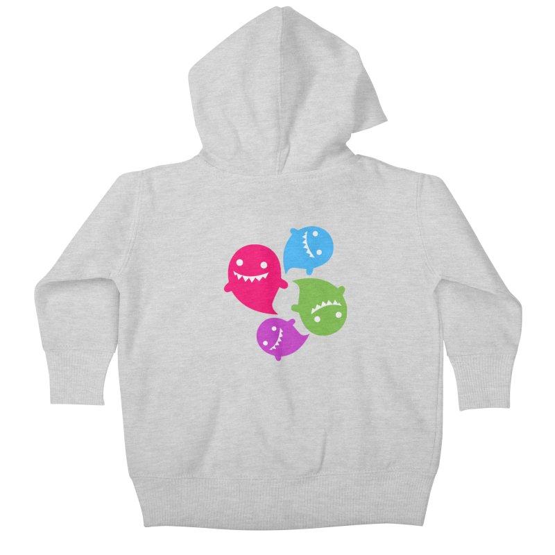 Rainboos v2 Kids Baby Zip-Up Hoody by My Shirty Life