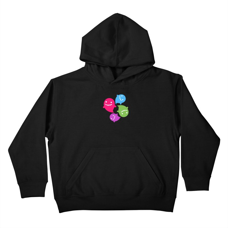 Rainboos v2 Kids Pullover Hoody by My Shirty Life