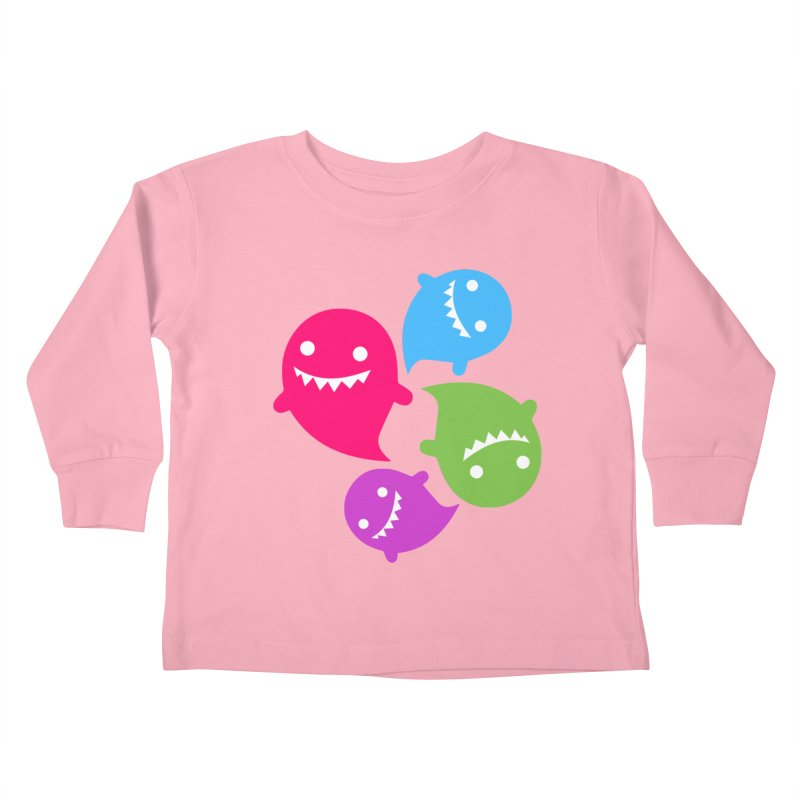 Rainboos v2 Kids Toddler Longsleeve T-Shirt by My Shirty Life