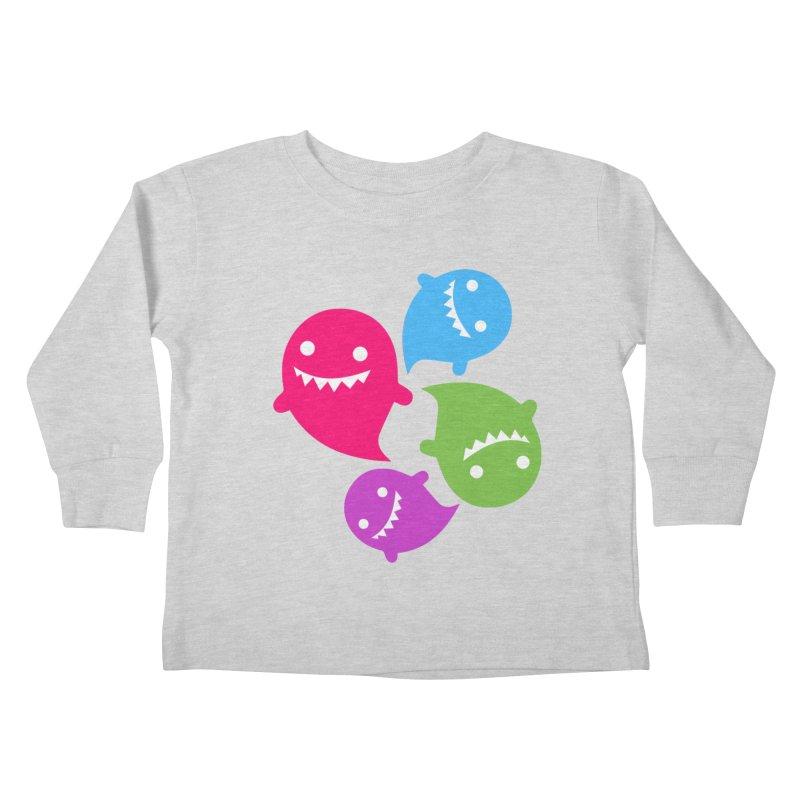 Rainboos v2 Kids Toddler Longsleeve T-Shirt by My Shirty Life