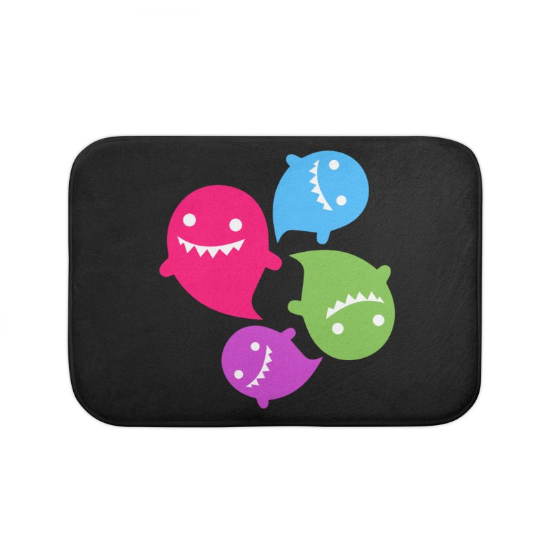Rainboos v2 Home Bath Mat by My Shirty Life