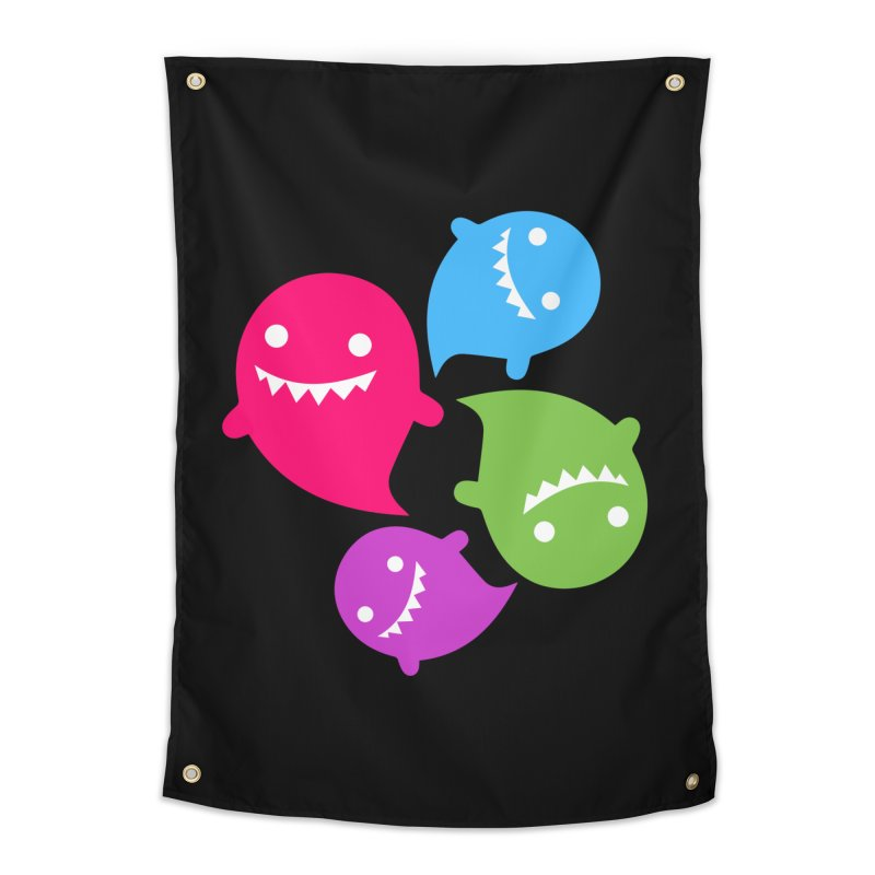 Rainboos v2 Home Tapestry by My Shirty Life