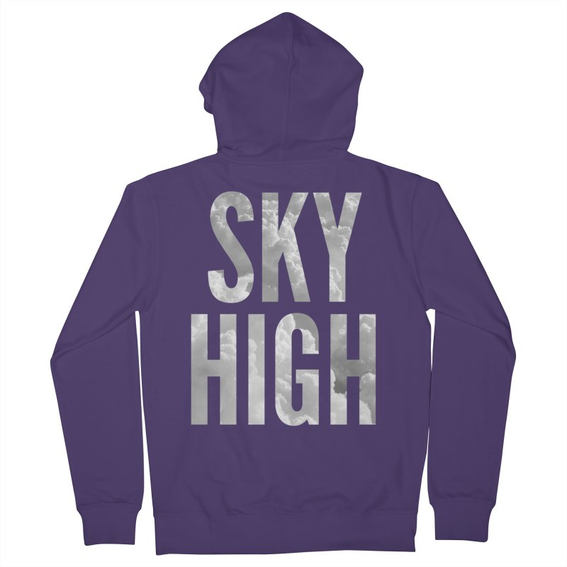 Sky High Women's French Terry Zip-Up Hoody by My Shirty Life