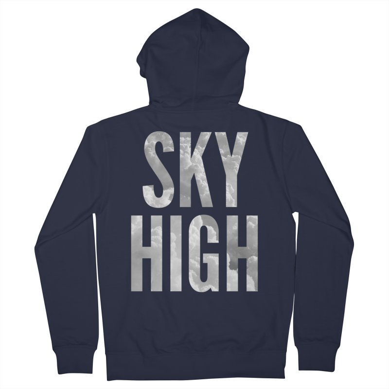 Sky High Men's Zip-Up Hoody by My Shirty Life
