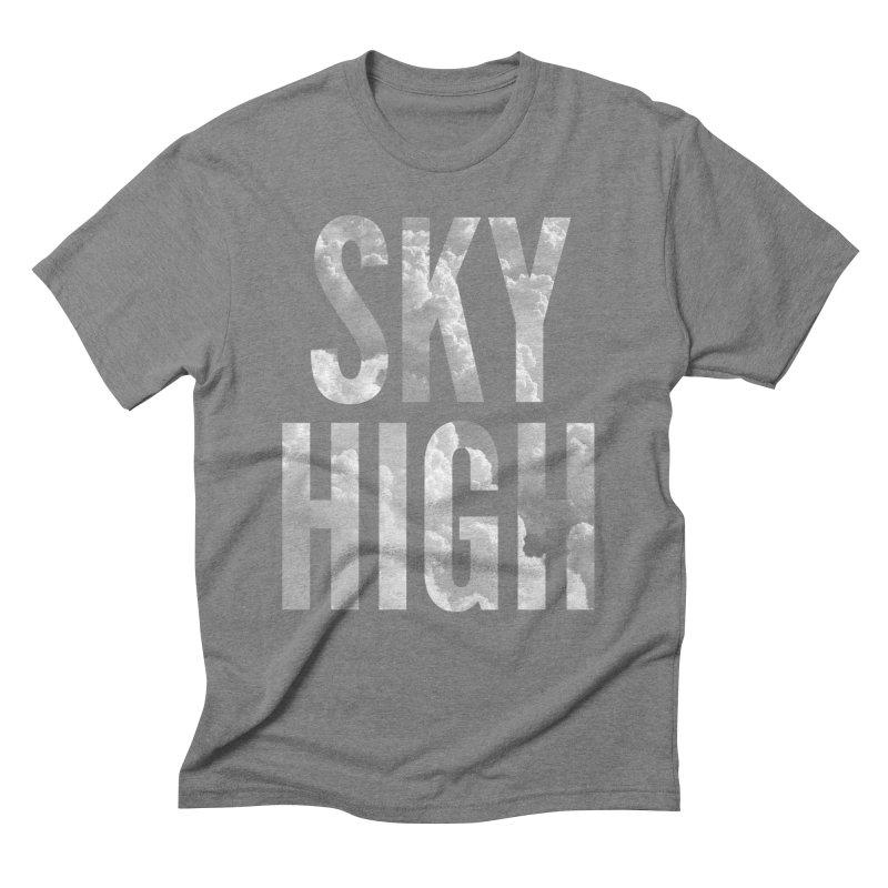 Sky High Men's Triblend T-Shirt by My Shirty Life