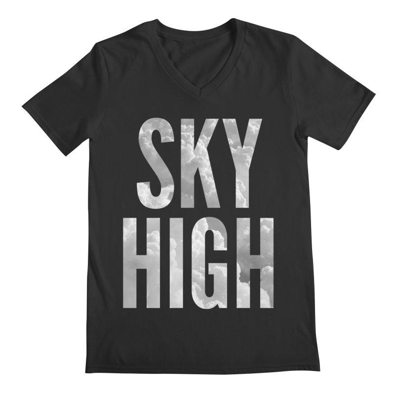 Sky High Men's V-Neck by My Shirty Life