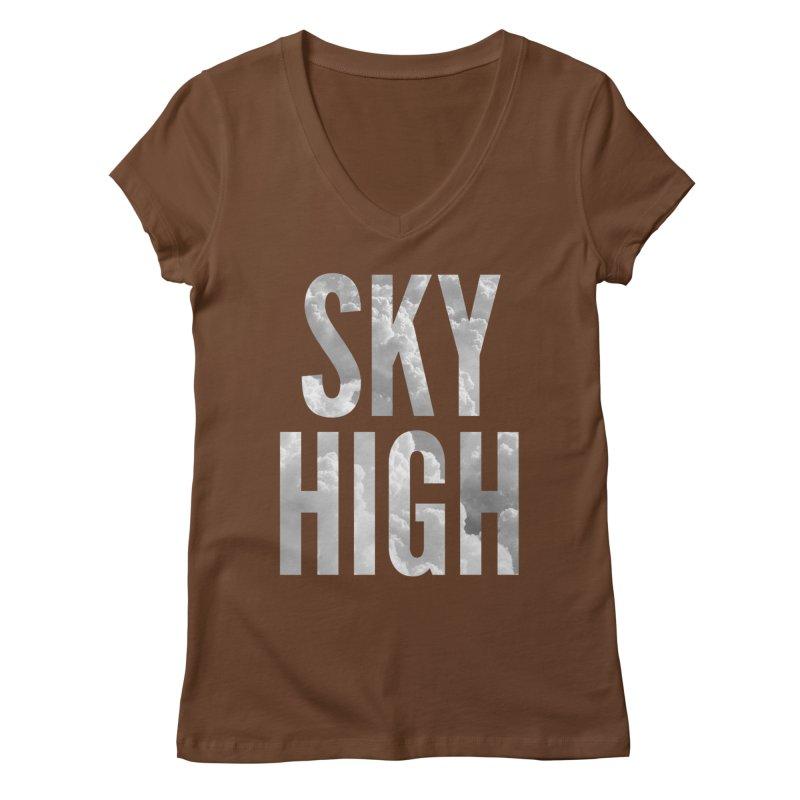 Sky High Women's V-Neck by My Shirty Life