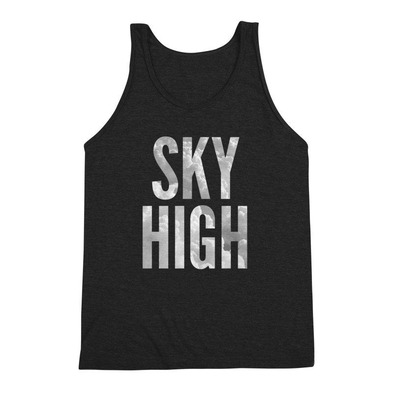 Sky High Men's Triblend Tank by My Shirty Life
