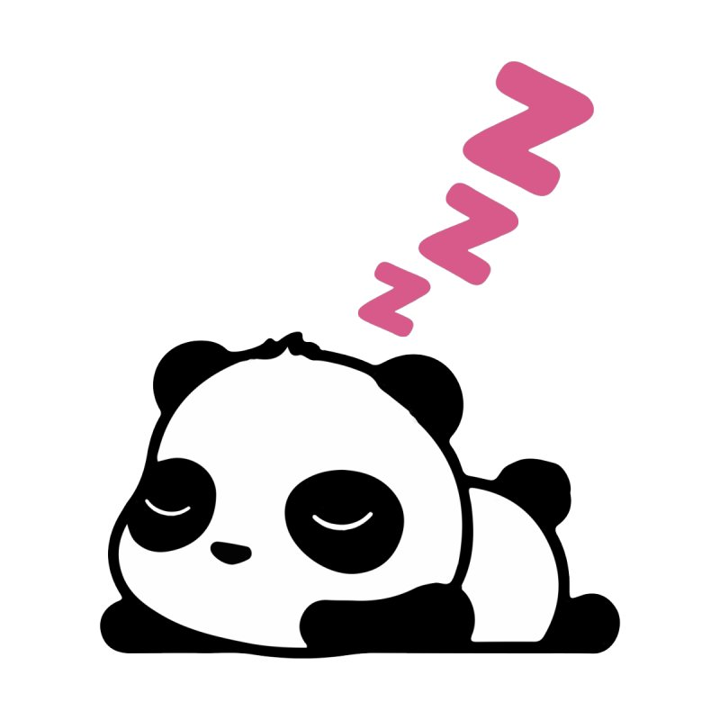 Sleeping Panda - Pink ver. by My Shirty Life