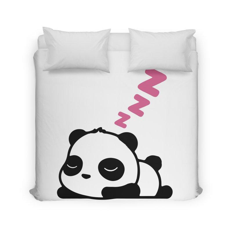 Sleeping Panda - Pink ver. Home Duvet by My Shirty Life