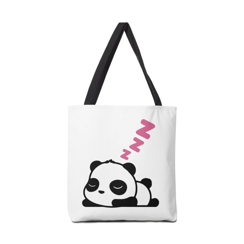 Sleeping Panda - Pink ver. Accessories Bag by My Shirty Life