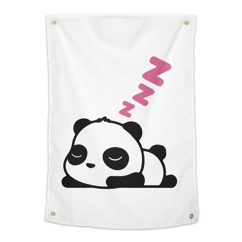 Sleeping Panda - Pink ver. Home Tapestry by My Shirty Life