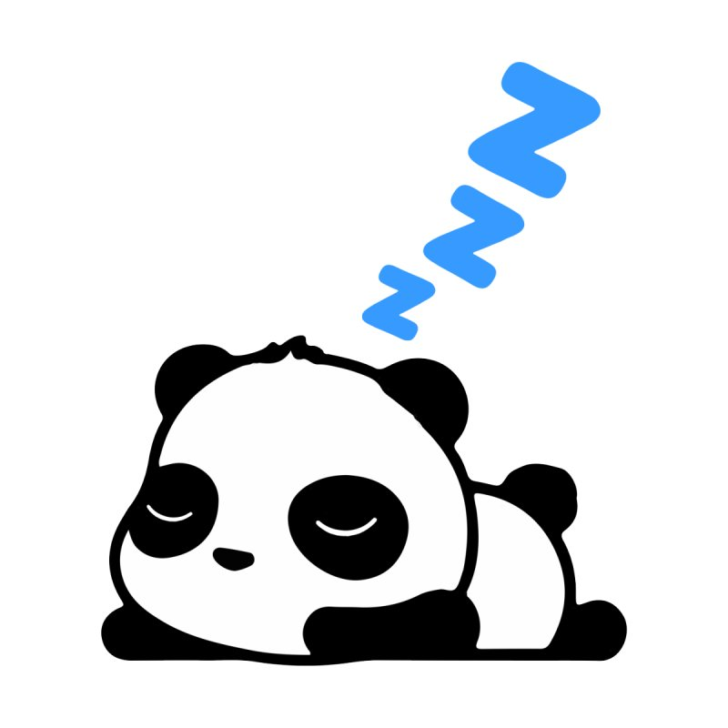 Sleeping Panda - Blue ver. by My Shirty Life