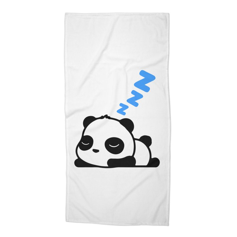 Sleeping Panda - Blue ver. Accessories Beach Towel by My Shirty Life