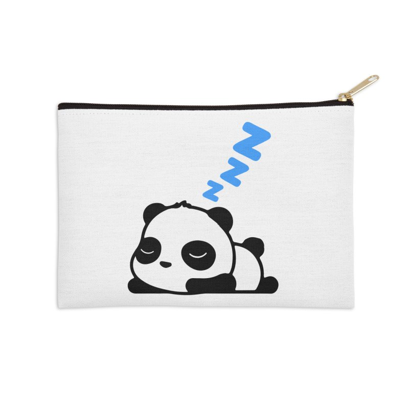 Sleeping Panda - Blue ver. Accessories Zip Pouch by My Shirty Life