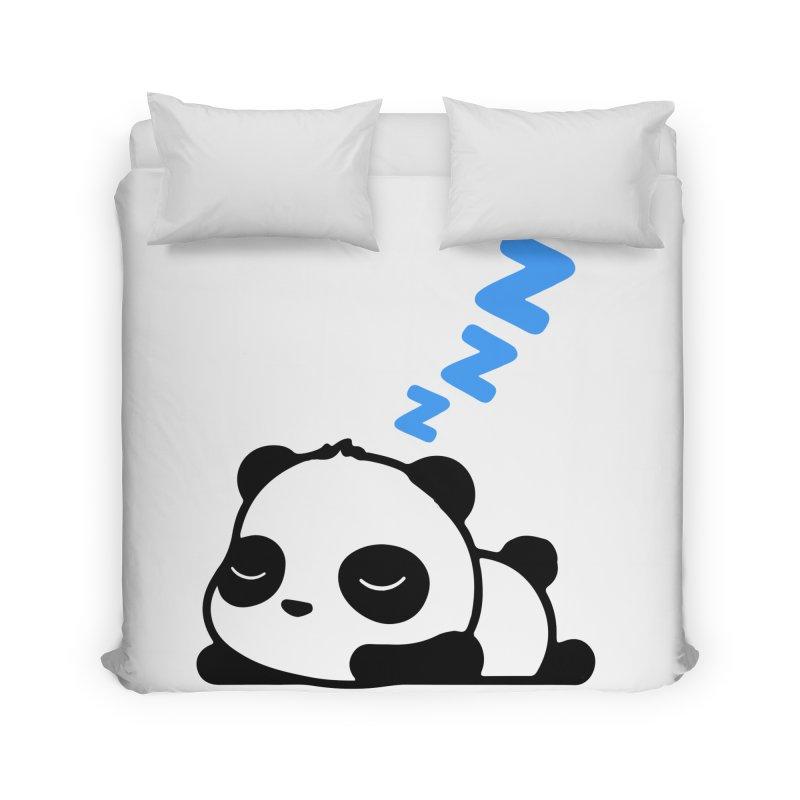 Sleeping Panda - Blue ver. Home Duvet by My Shirty Life
