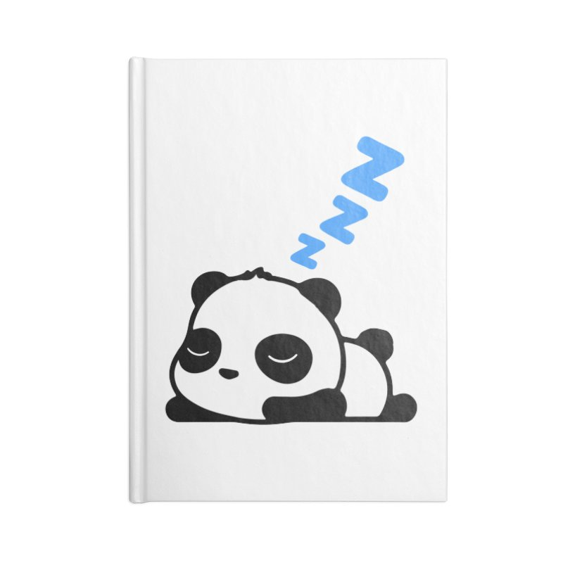 Sleeping Panda - Blue ver. Accessories Notebook by My Shirty Life