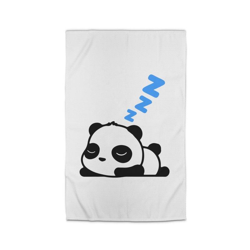 Sleeping Panda - Blue ver. Home Rug by My Shirty Life