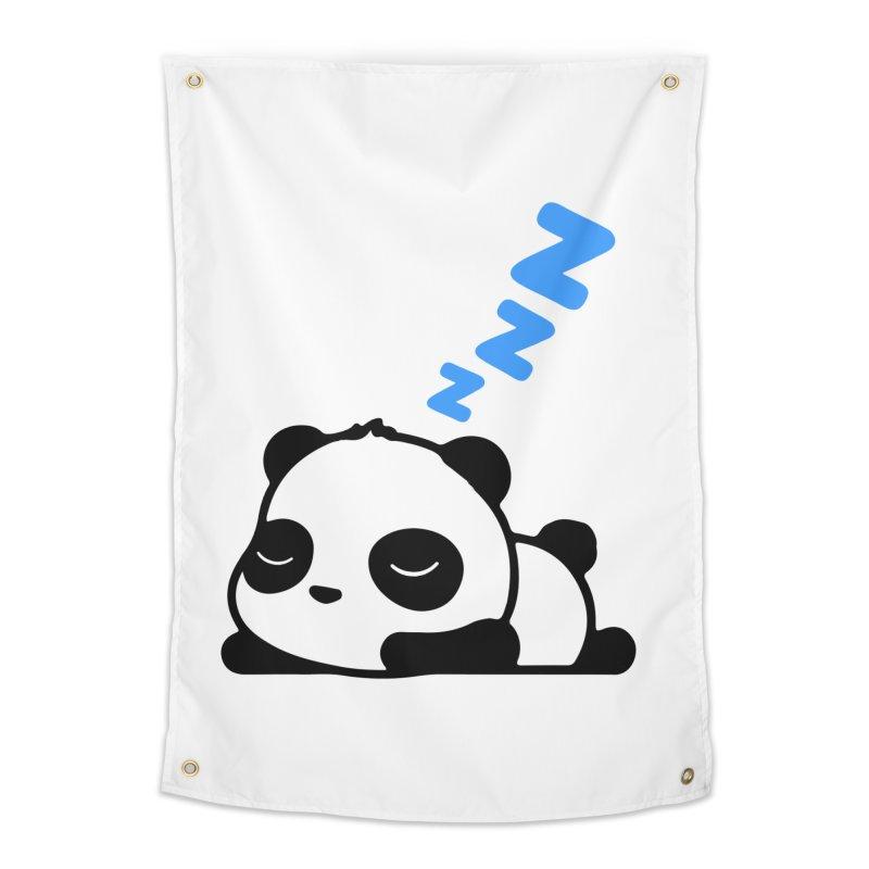 Sleeping Panda - Blue ver. Home Tapestry by My Shirty Life