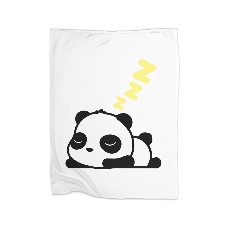 Sleeping Panda - Yellow ver. Home Blanket by My Shirty Life