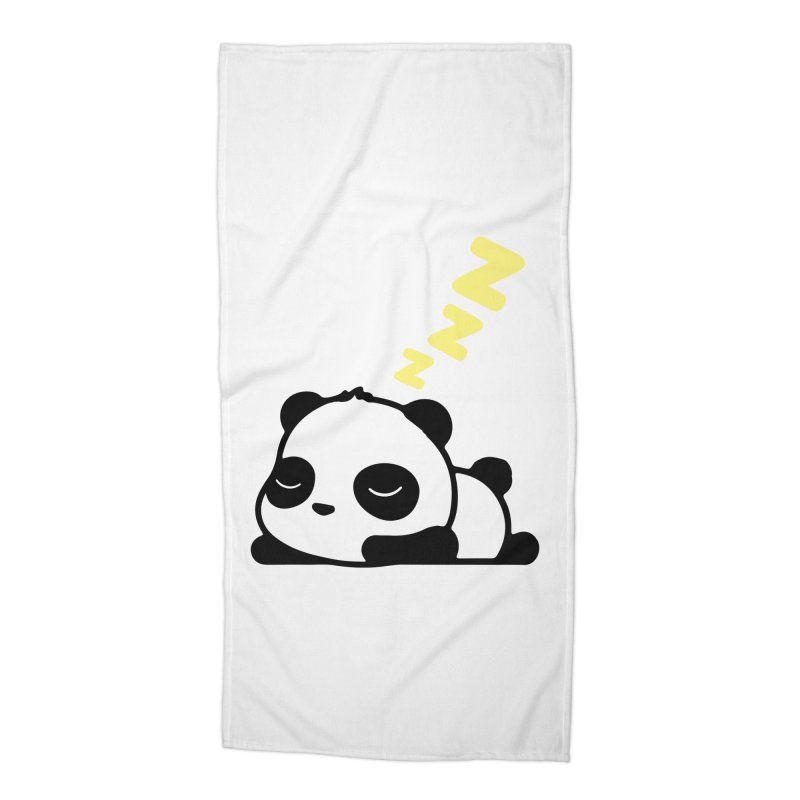 Sleeping Panda - Yellow ver. Accessories Beach Towel by My Shirty Life