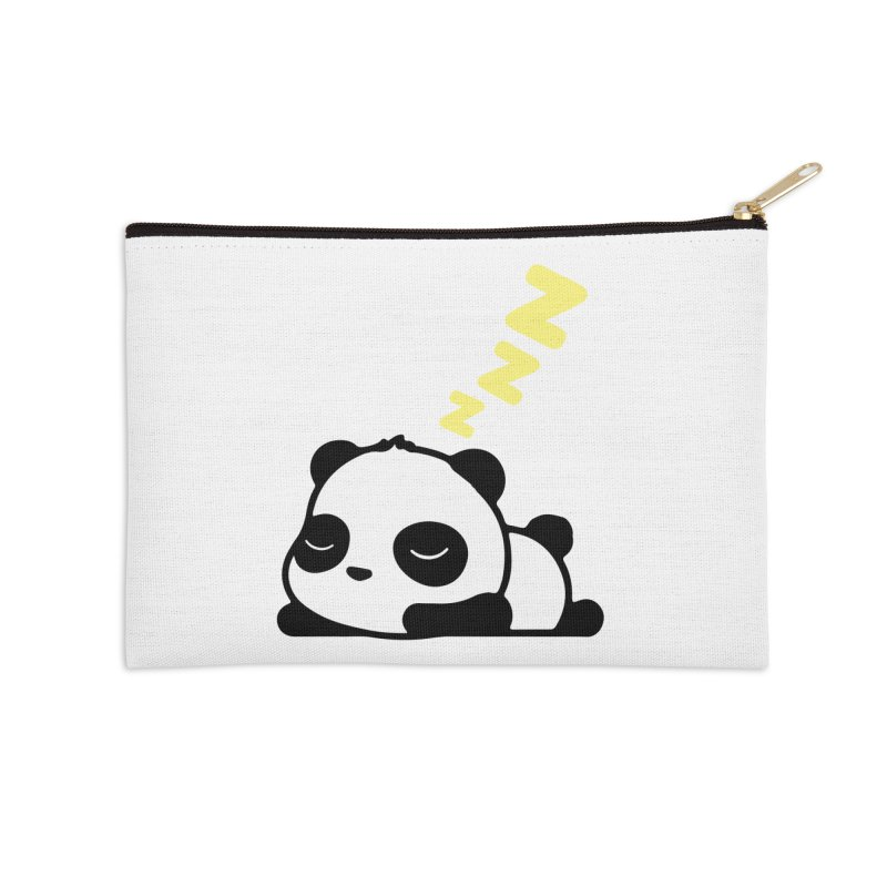 Sleeping Panda - Yellow ver. Accessories Zip Pouch by My Shirty Life